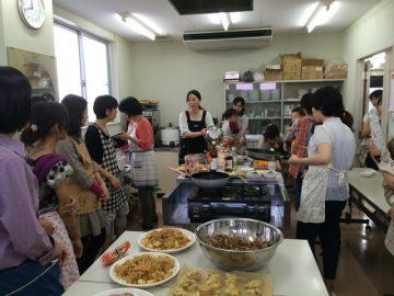 自然食の料理教室♪