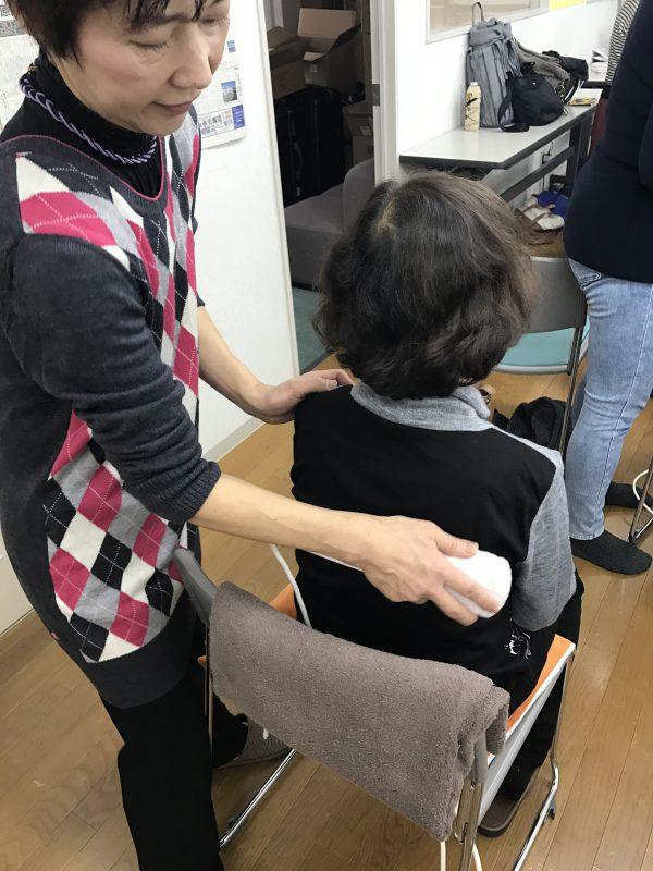 三井温熱療法体験会