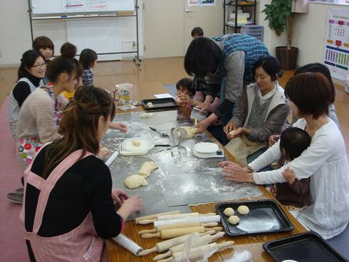 親子でパンを作ろう♪